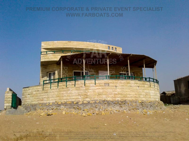 Turtle Beach Huts - Karachi Beach - Family Beach Huts
