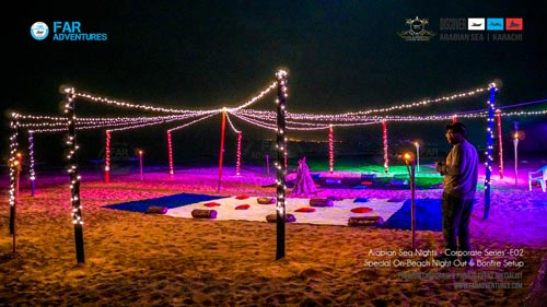 Family Celebrations & Dinner at Beach Ideas