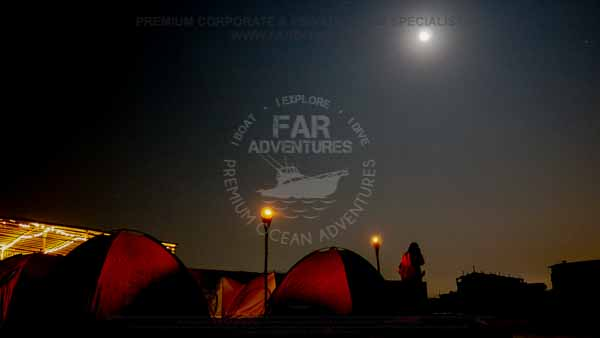 Camping at Hawksbay Beach Karachi