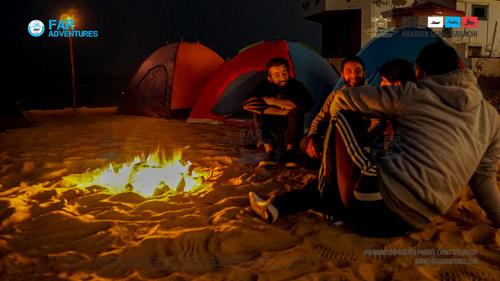 Movie Night & Beach Camping at Hawksbay Karachi