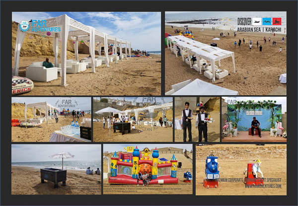 Corporate Outings Watersports Beach Event