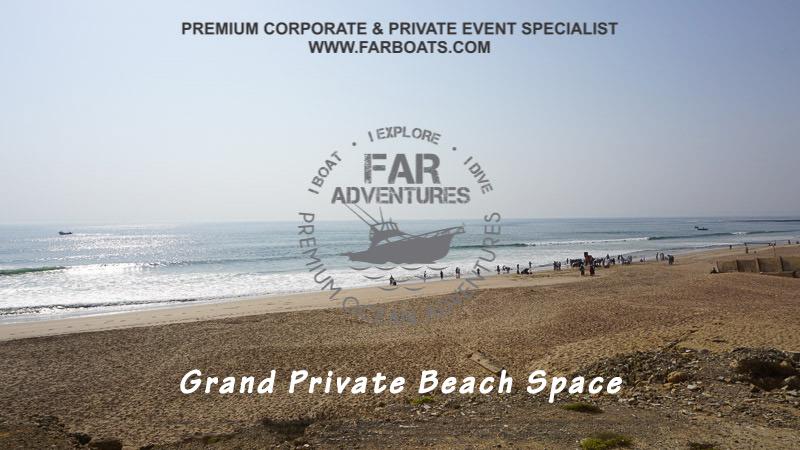 Private Beach - Luxurious Beach Resort at Manora