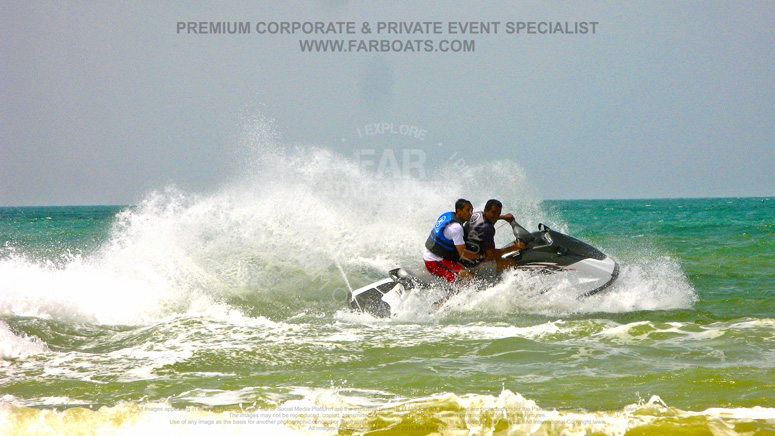 Speed boat jet ski rental karachi beach for Best jet ski for fishing