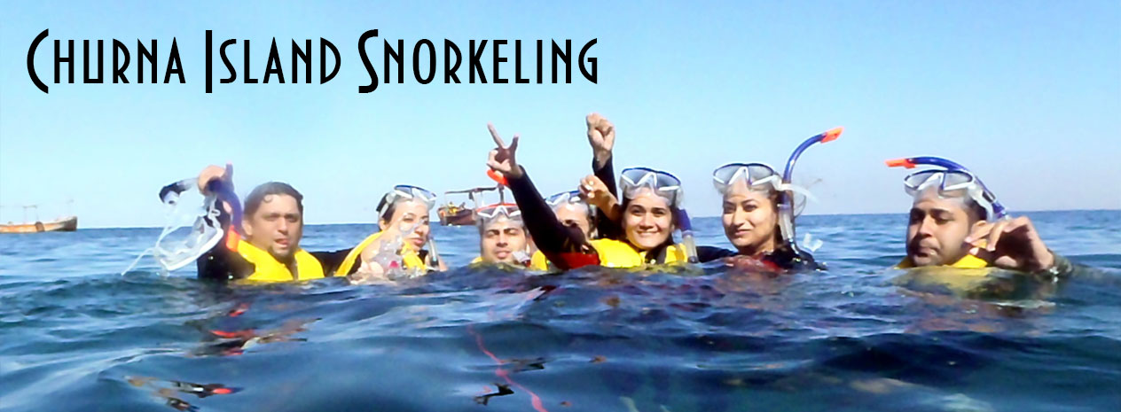 Snorkleing at churna Island